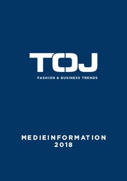 TØJ medieinformation 2018 DK