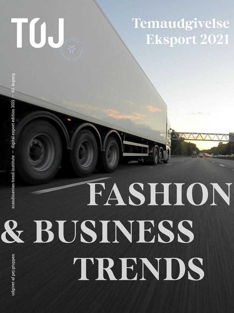 TØJ - Temaudgivelse - Eksport 2021