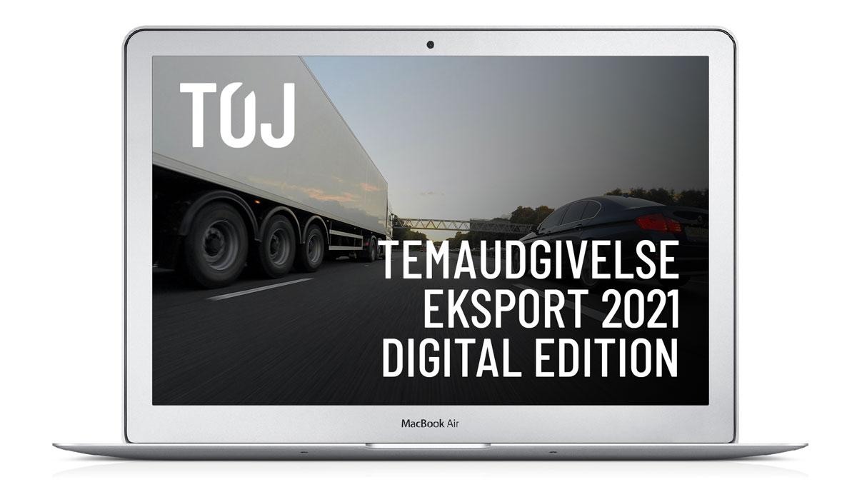 TØJ - temaudgivelse: eksport 2021 - digital edition